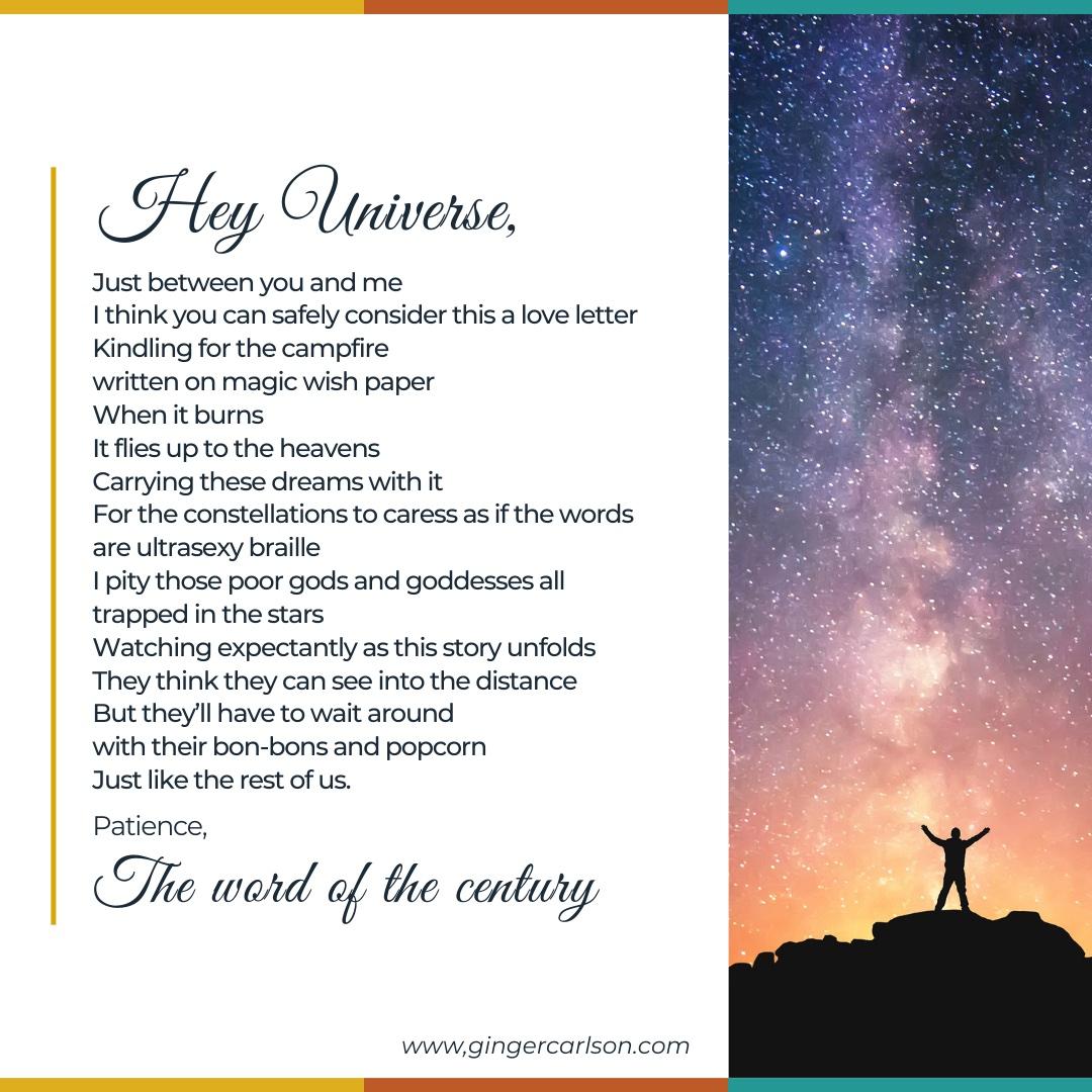 Hey universe